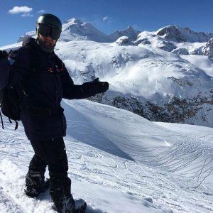 Snowboarding Cervinia
